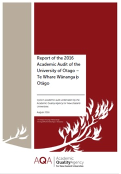 Otago report cover